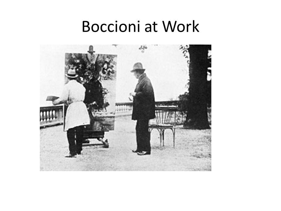 Boccioni at Work
