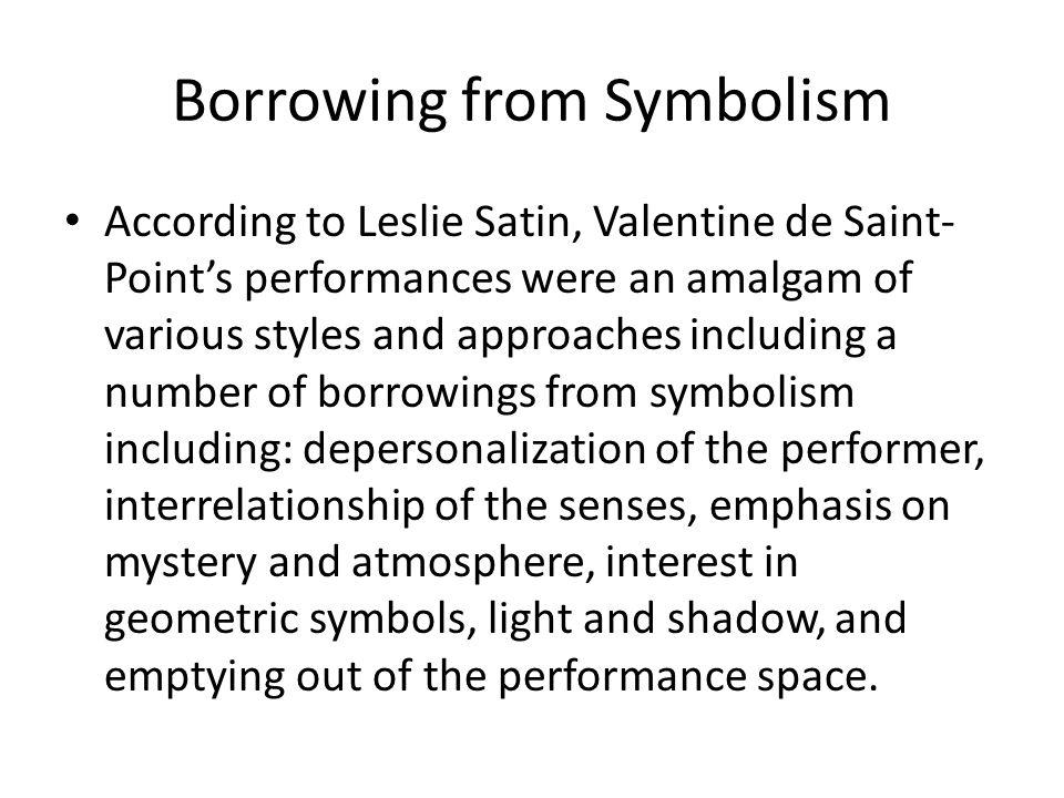 Borrowing from Symbolism