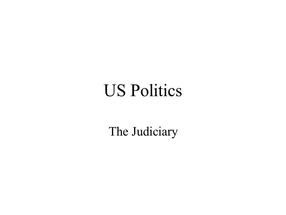 US Politics The Judiciary