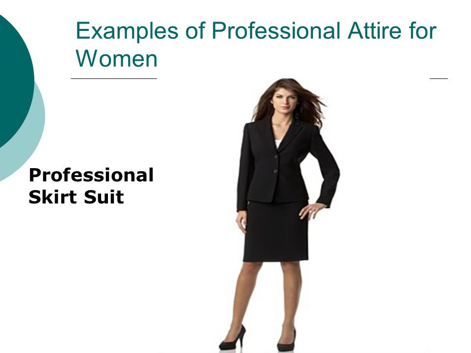 Examples of Professional Attire for Women