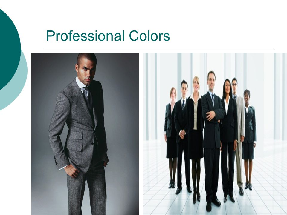 Professional Colors