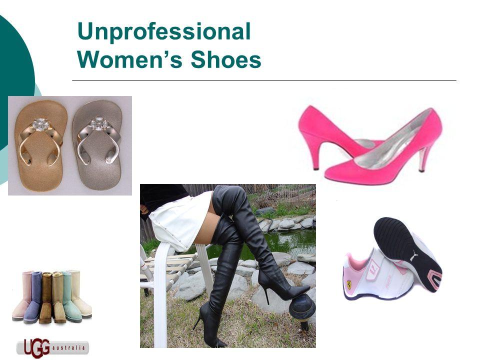 Unprofessional Women's Shoes