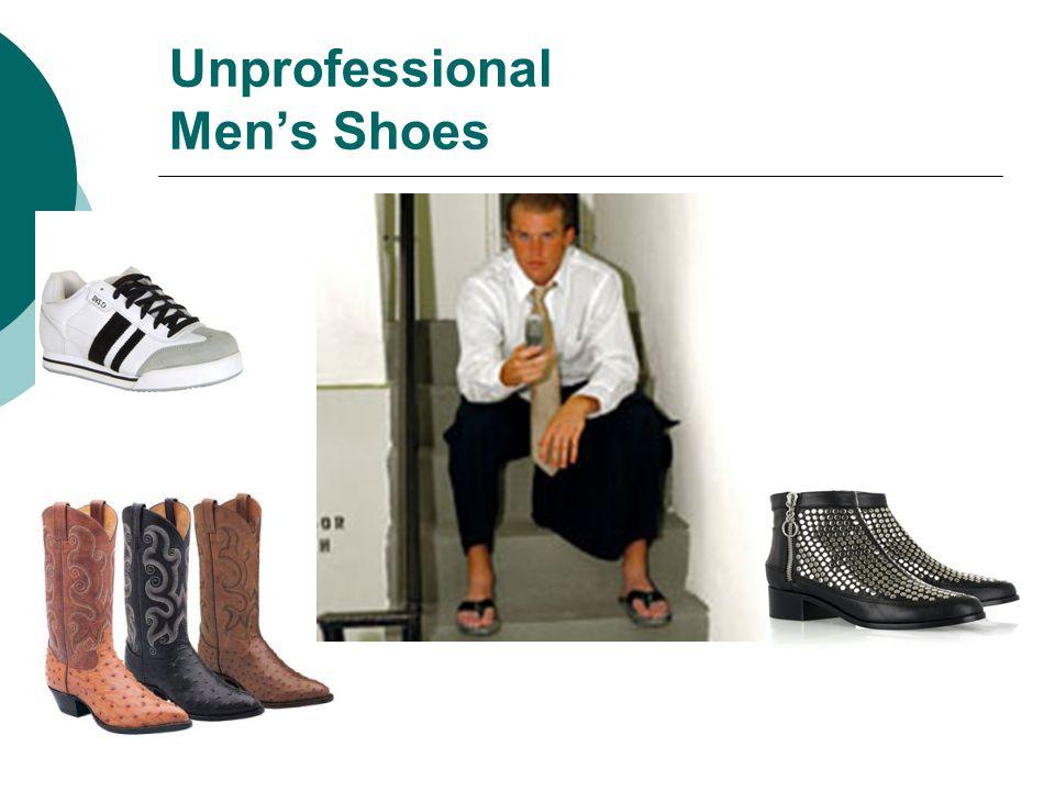 Unprofessional Men's Shoes