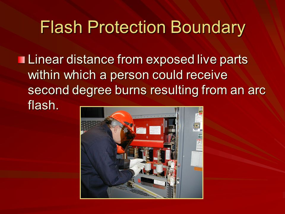 Flash Protection Boundary