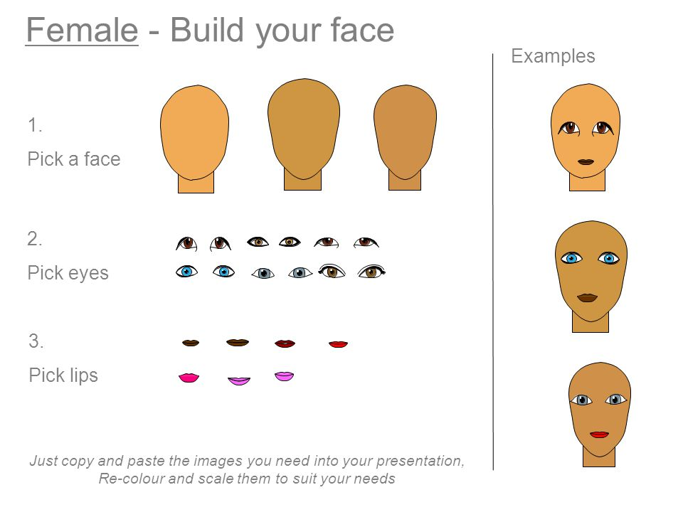 Female - Build your face