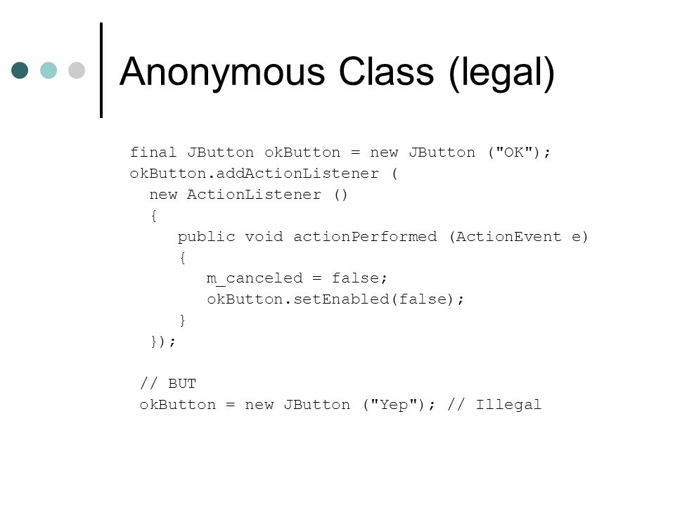 Anonymous Class (legal)