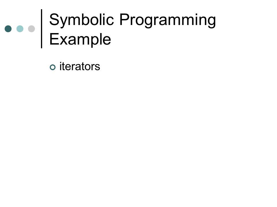 Symbolic Programming Example