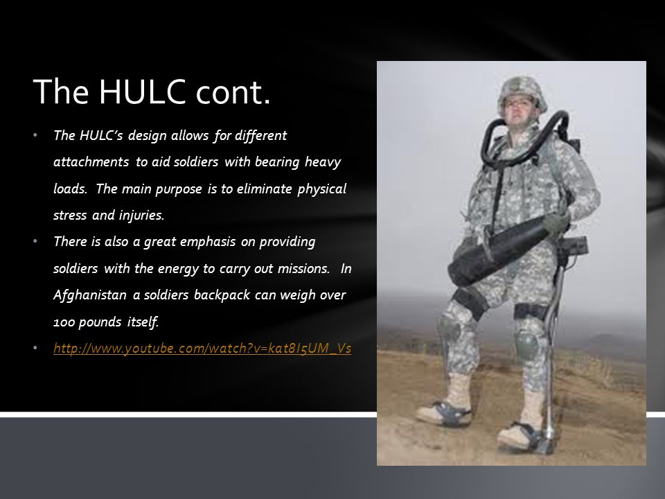 The HULC cont.