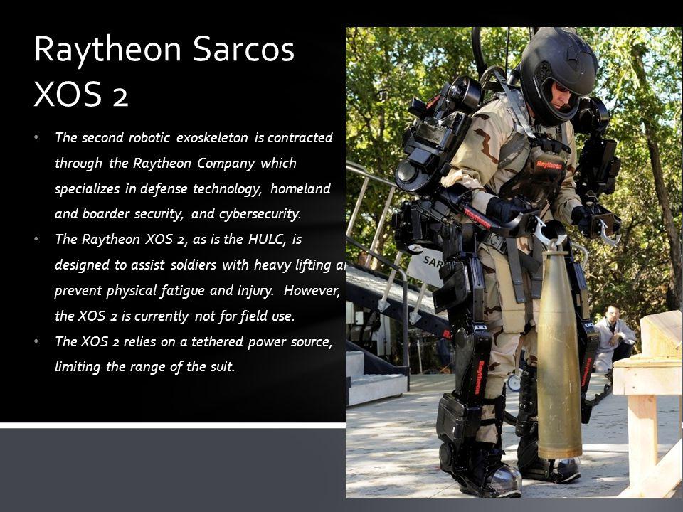 Raytheon Sarcos XOS 2