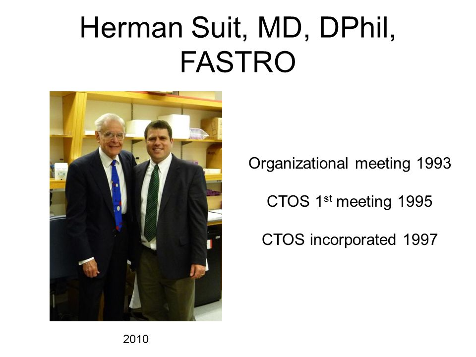 Herman Suit, MD, DPhil, FASTRO