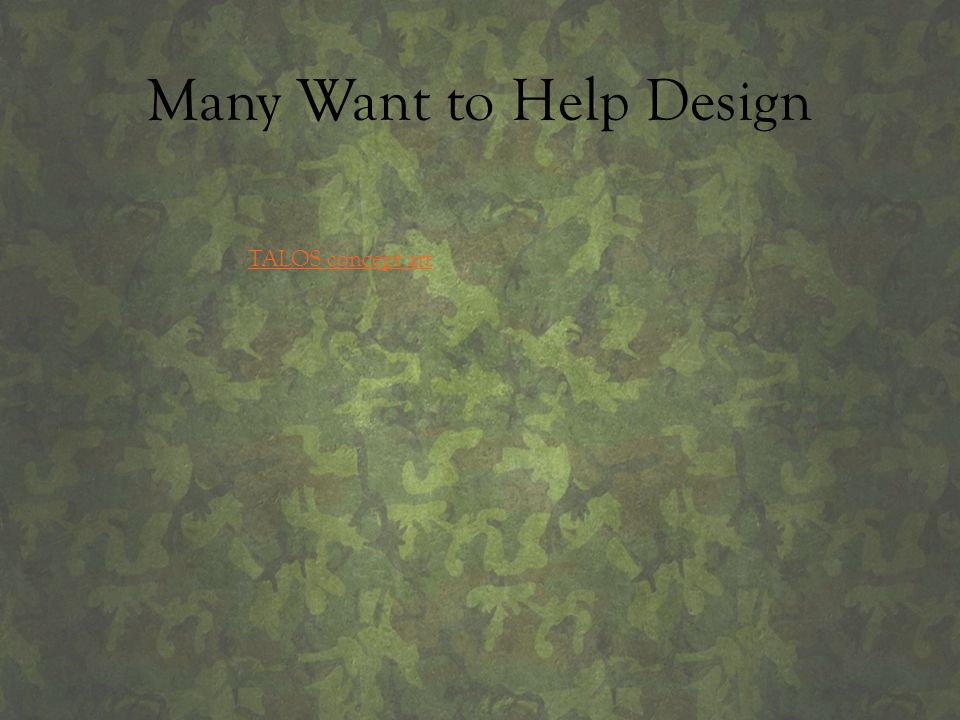 Many Want to Help Design