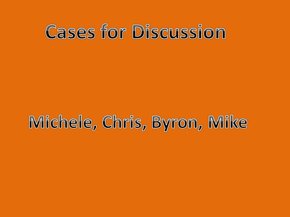 Michele, Chris, Byron, Mike