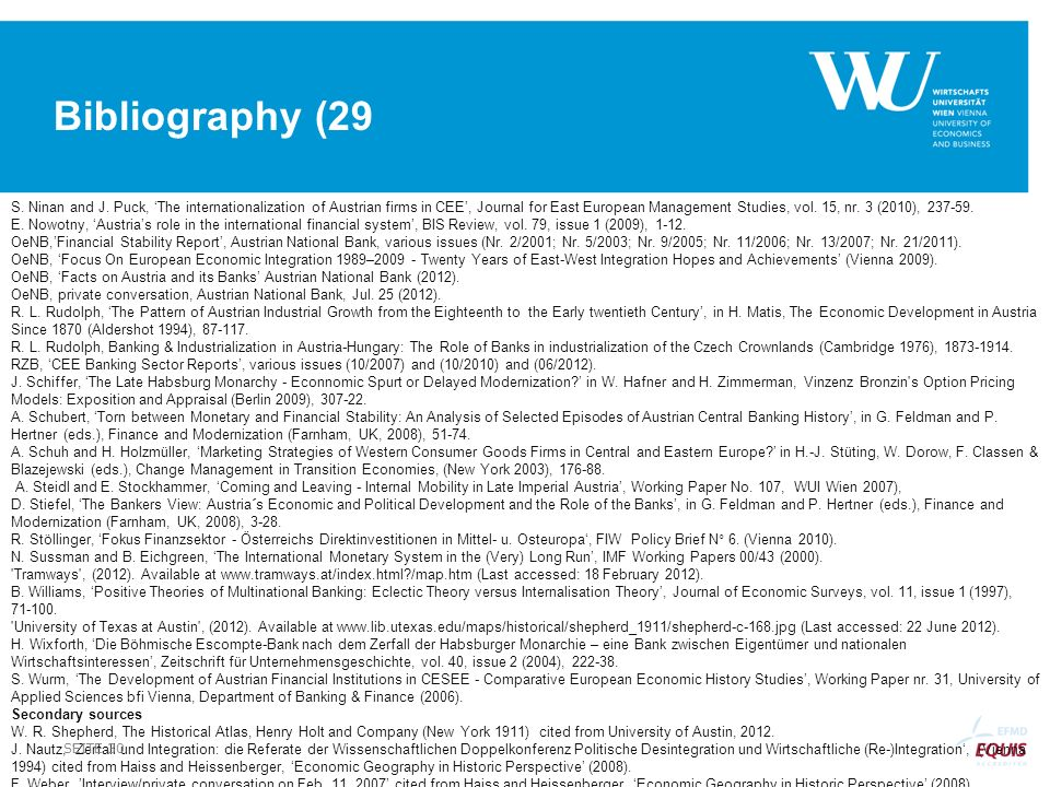 Bibliography (29