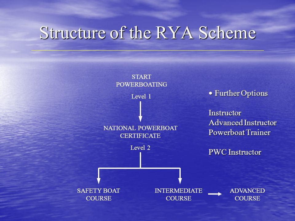 Structure of the RYA Scheme