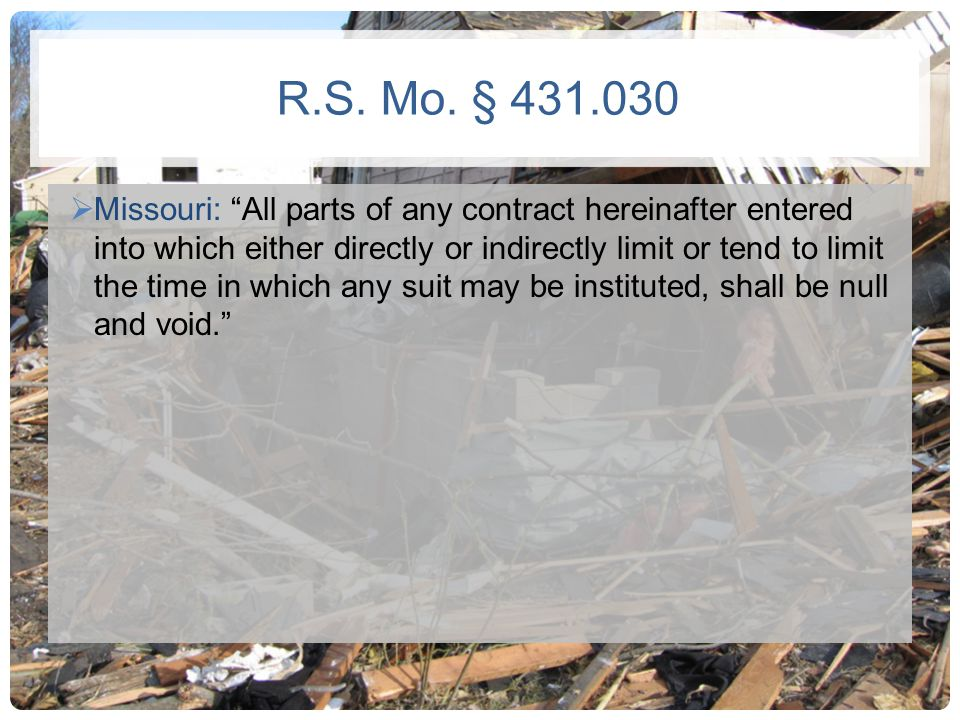 R.S. Mo. § 431.030