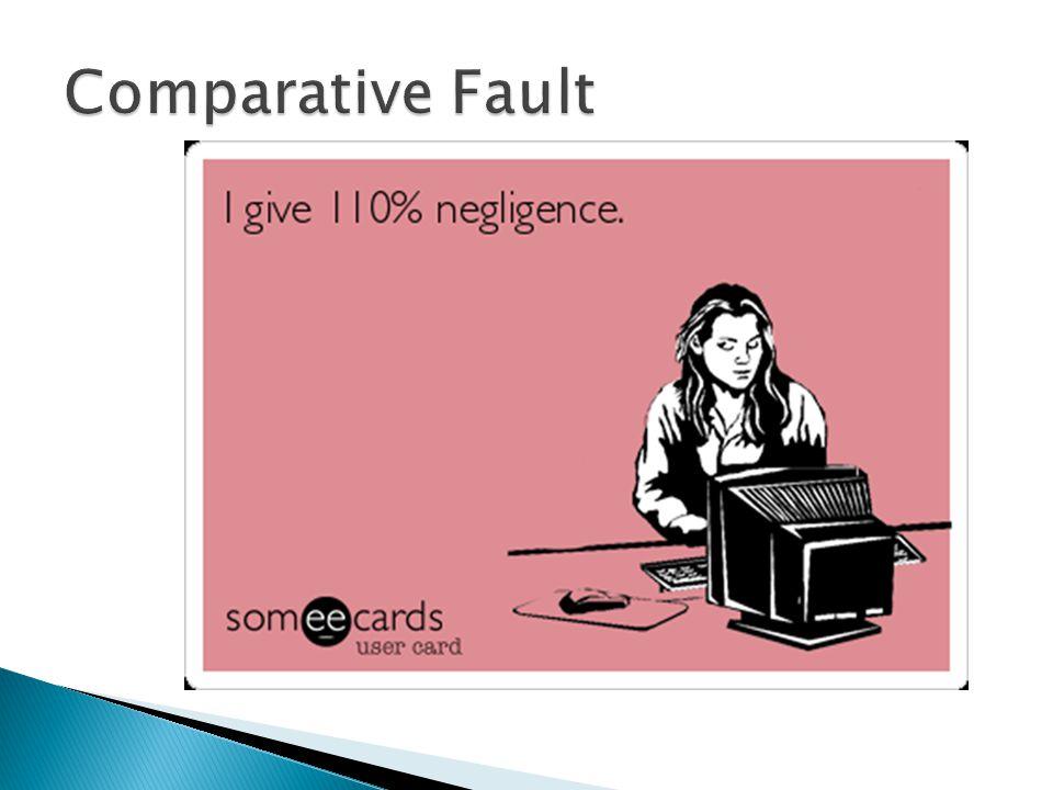 Comparative Fault