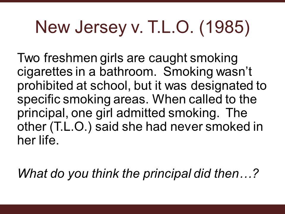 New Jersey v. T.L.O. (1985)
