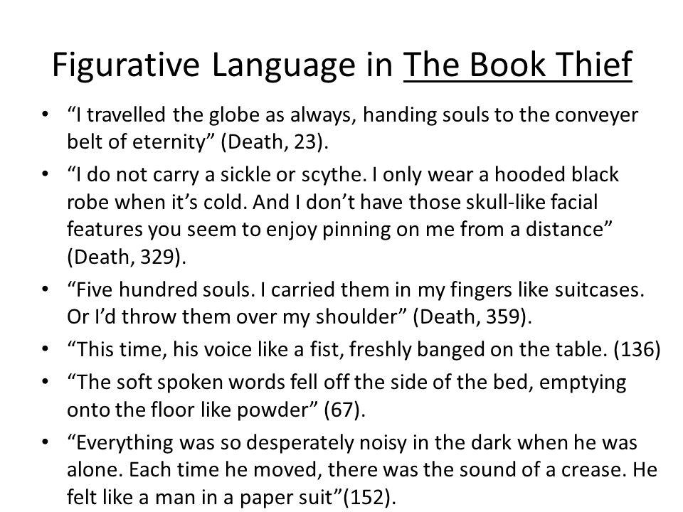 Figurative Language in The Book Thief