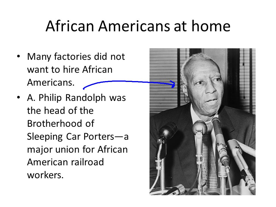 African Americans at home