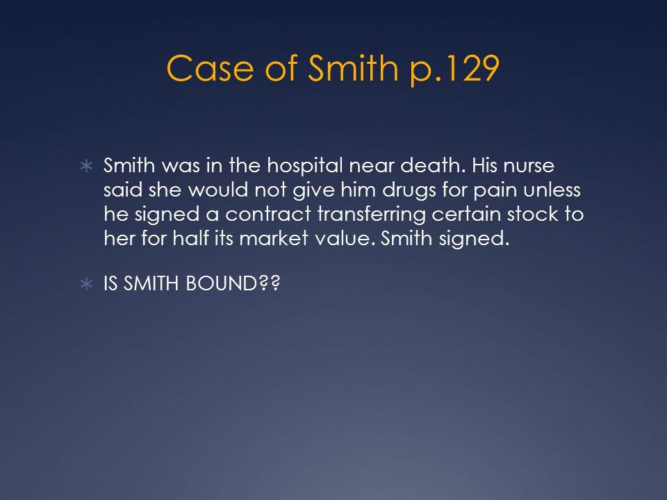 Case of Smith p.129