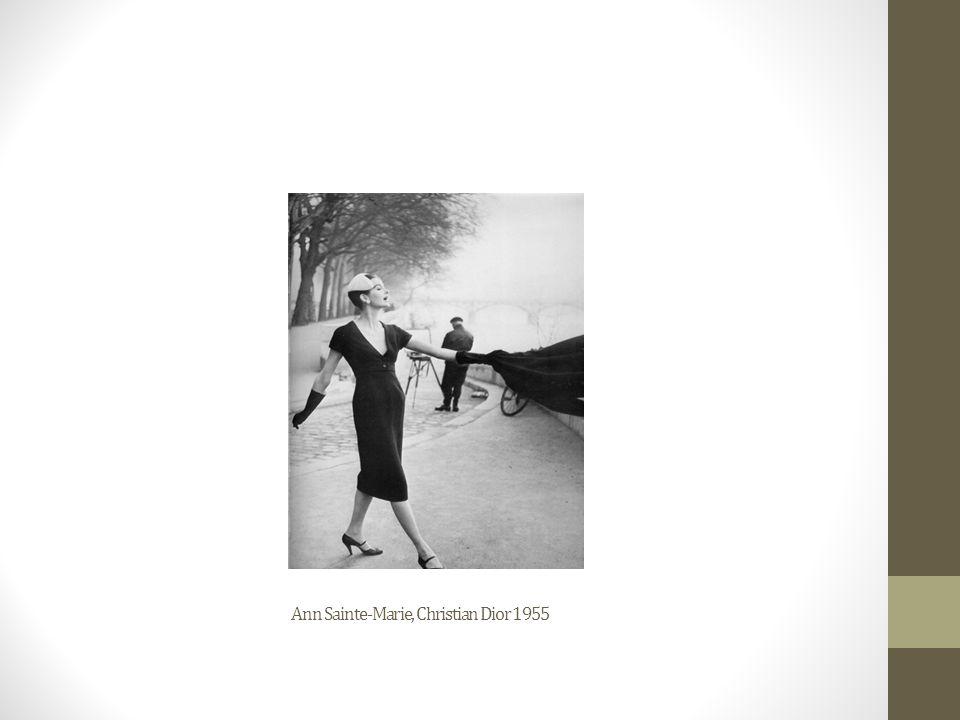 Ann Sainte-Marie, Christian Dior 1955