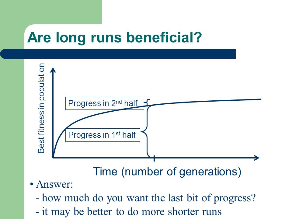 Are long runs beneficial