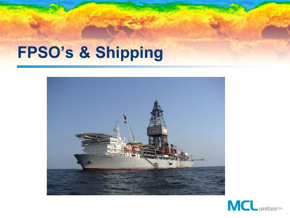 FPSO's & Shipping