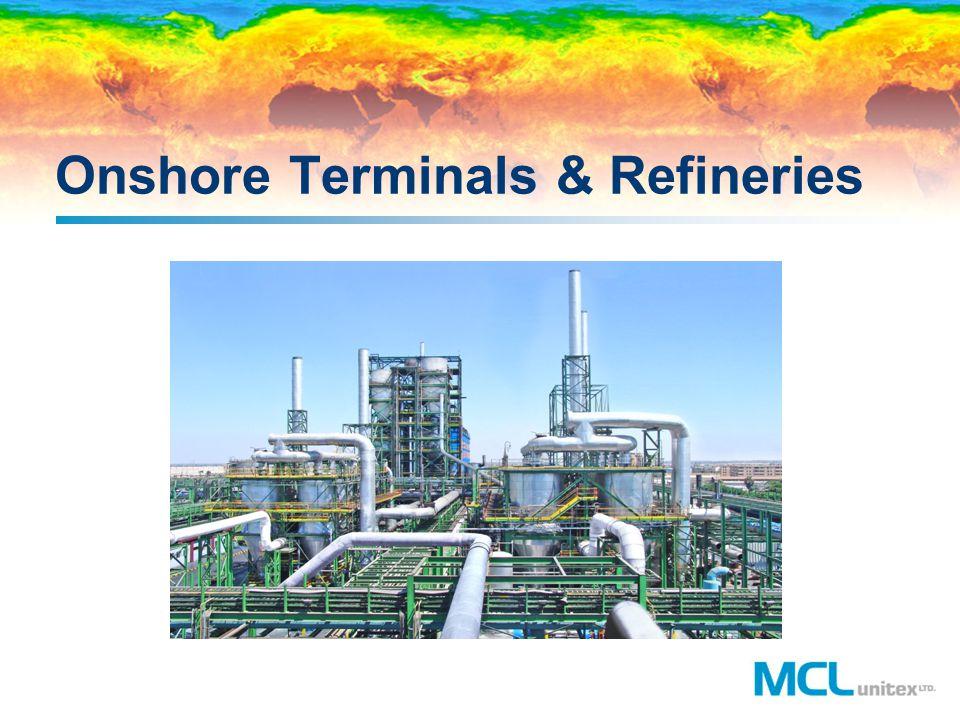 Onshore Terminals & Refineries