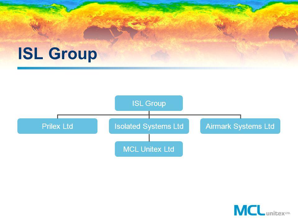 ISL Group ISL Group Prilex Ltd Isolated Systems Ltd