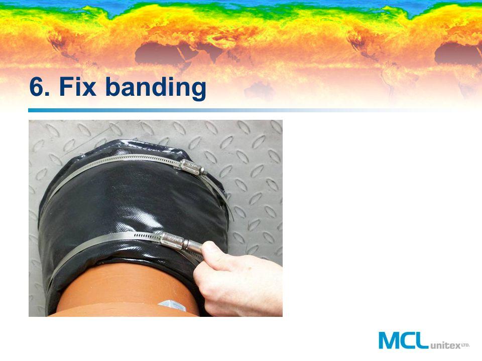 6. Fix banding