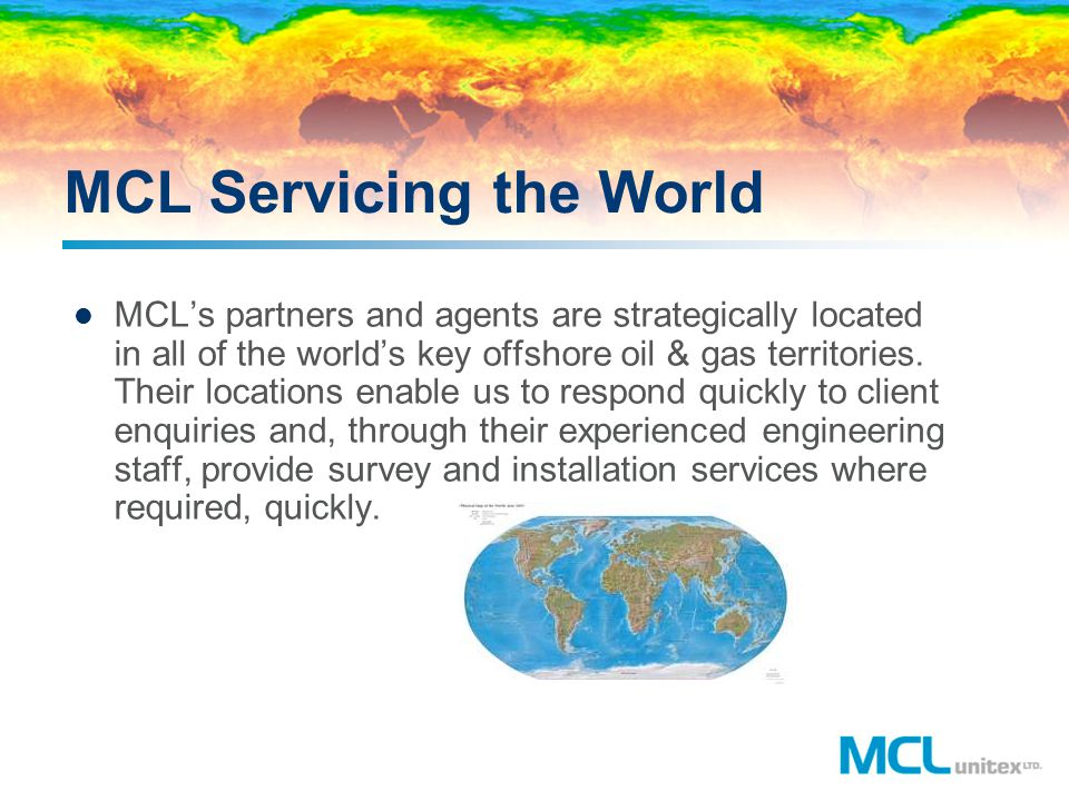 MCL Servicing the World
