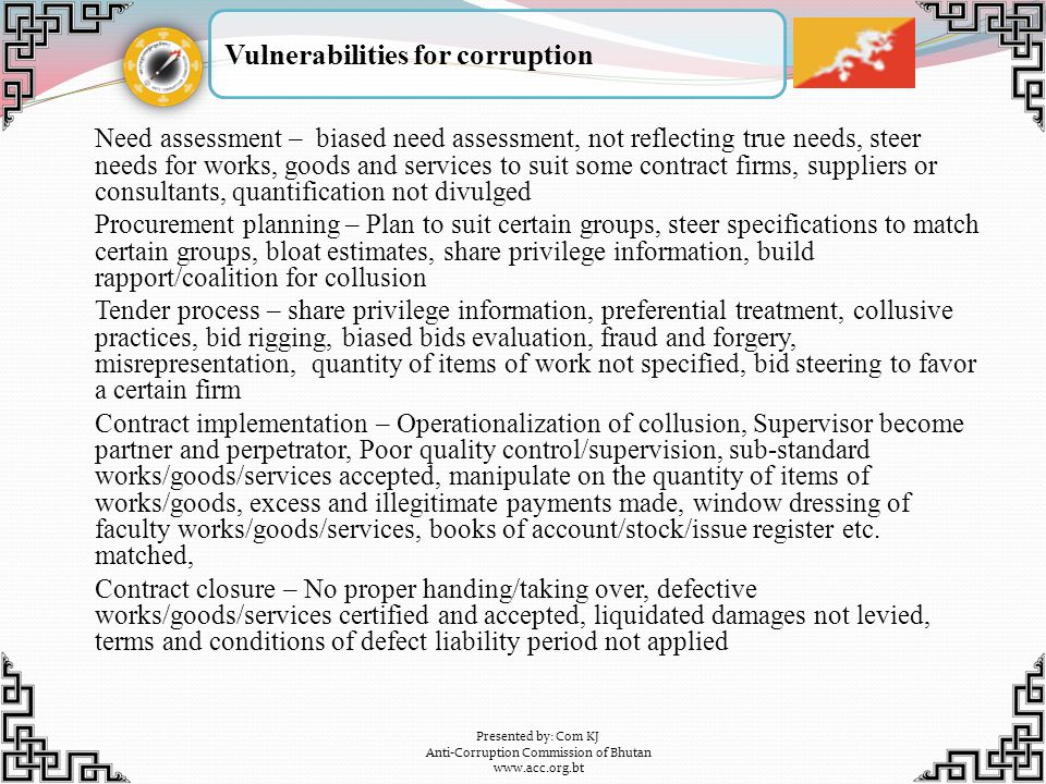 Anti-Corruption Commission of Bhutan