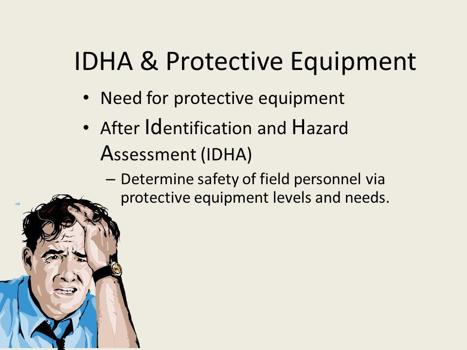IDHA & Protective Equipment