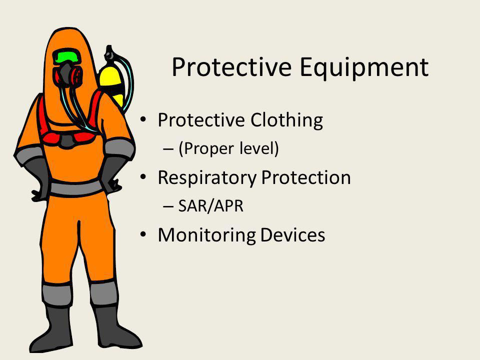 Protective Equipment Protective Clothing Respiratory Protection