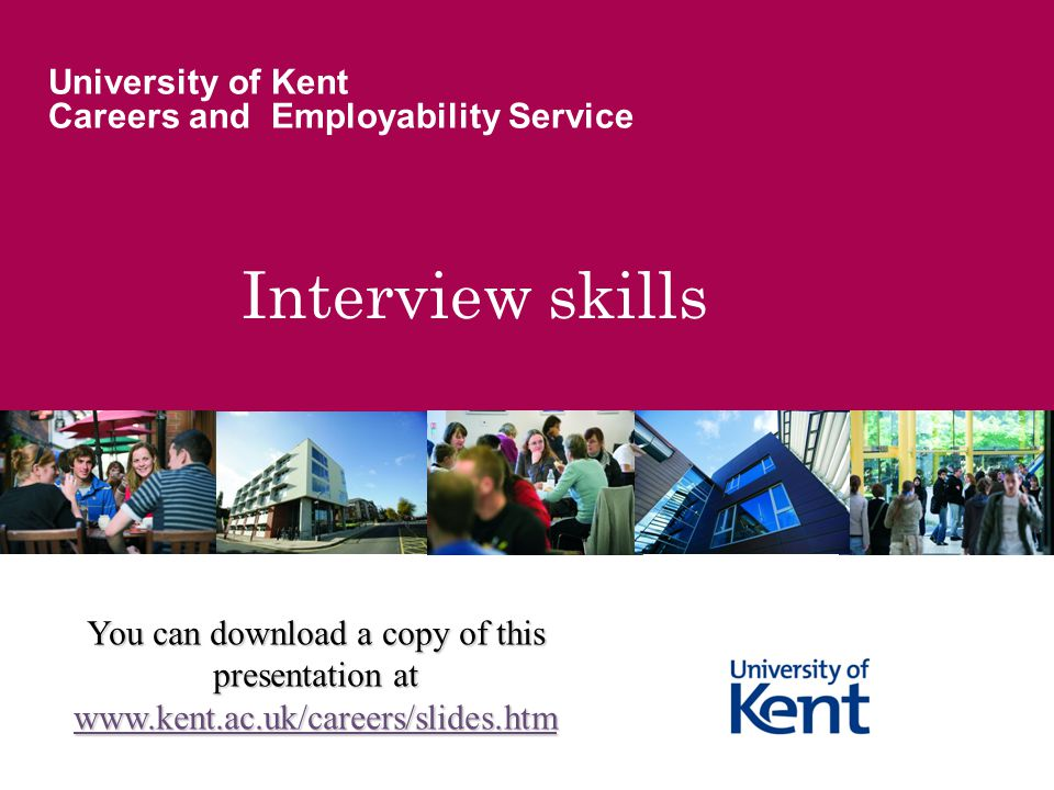 University of Kent Careers and Employability Service