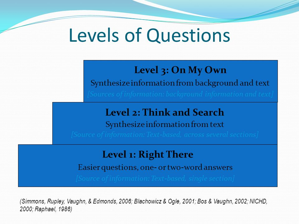 Level 2: Think and Search