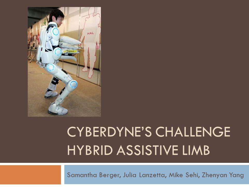 Cyberdyne's Challenge Hybrid Assistive Limb
