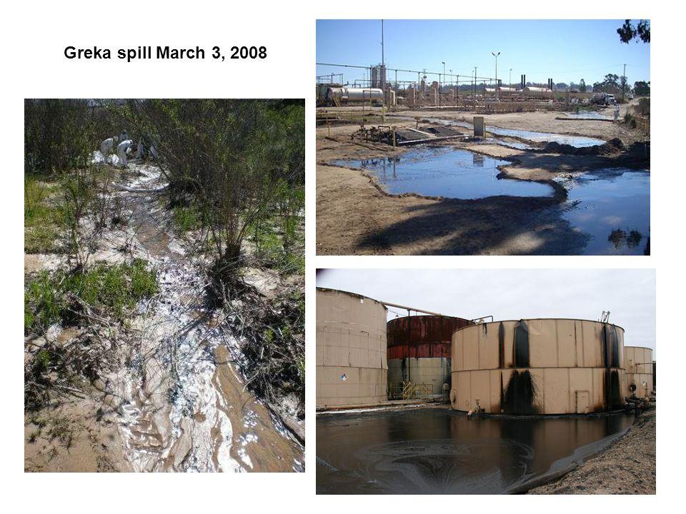 Greka spill March 3, 2008