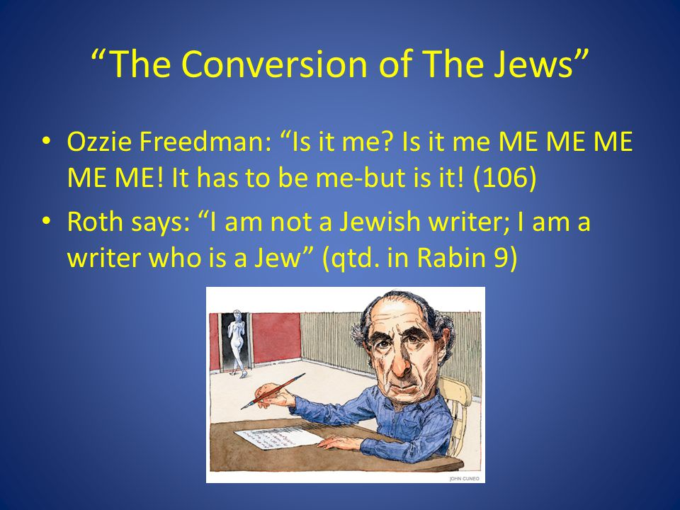 The Conversion of The Jews