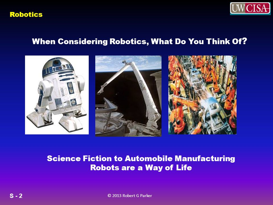 Science Fiction to Automobile Manufacturing