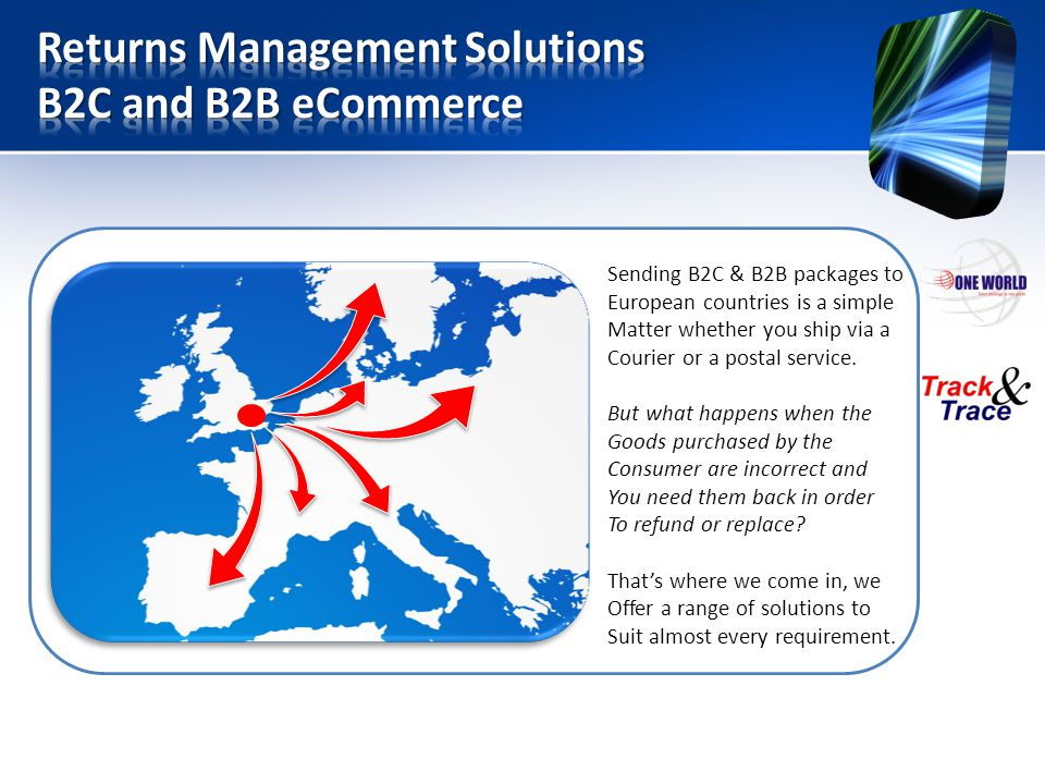 Returns Management Solutions B2C and B2B eCommerce