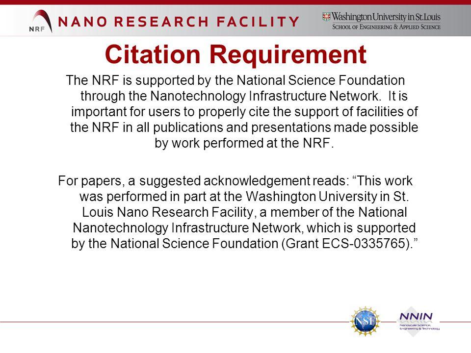 Citation Requirement