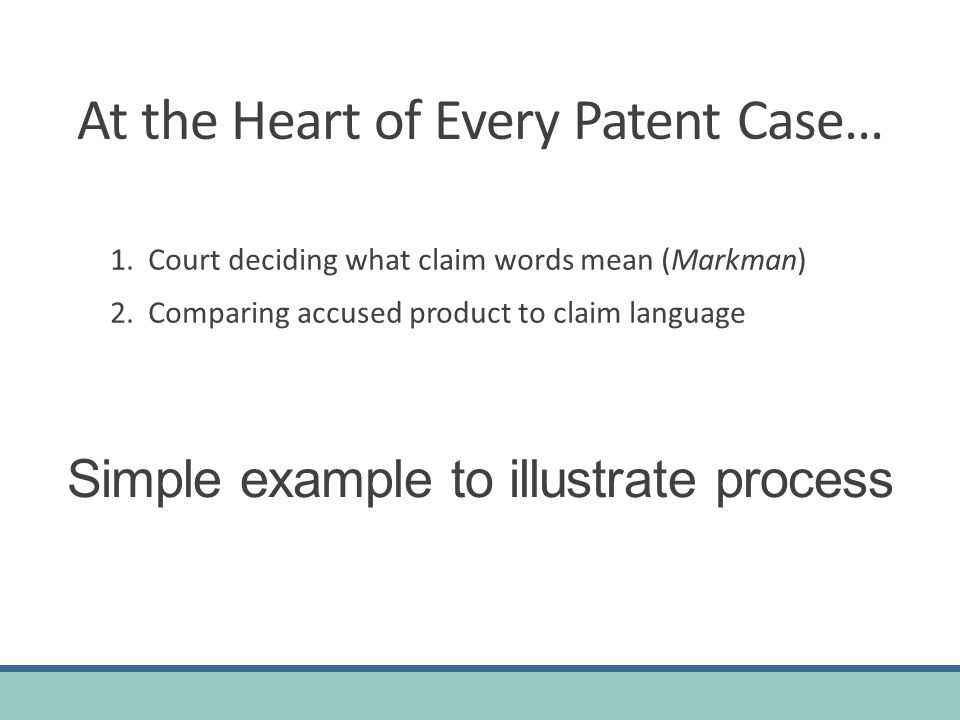 At the Heart of Every Patent Case…