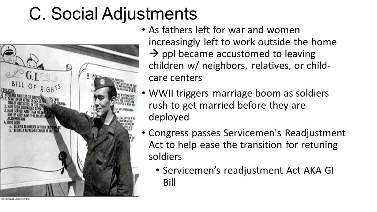 C. Social Adjustments