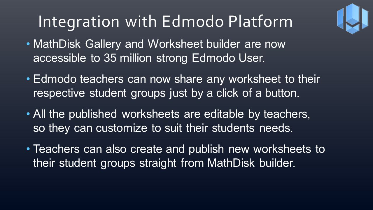 Integration with Edmodo Platform