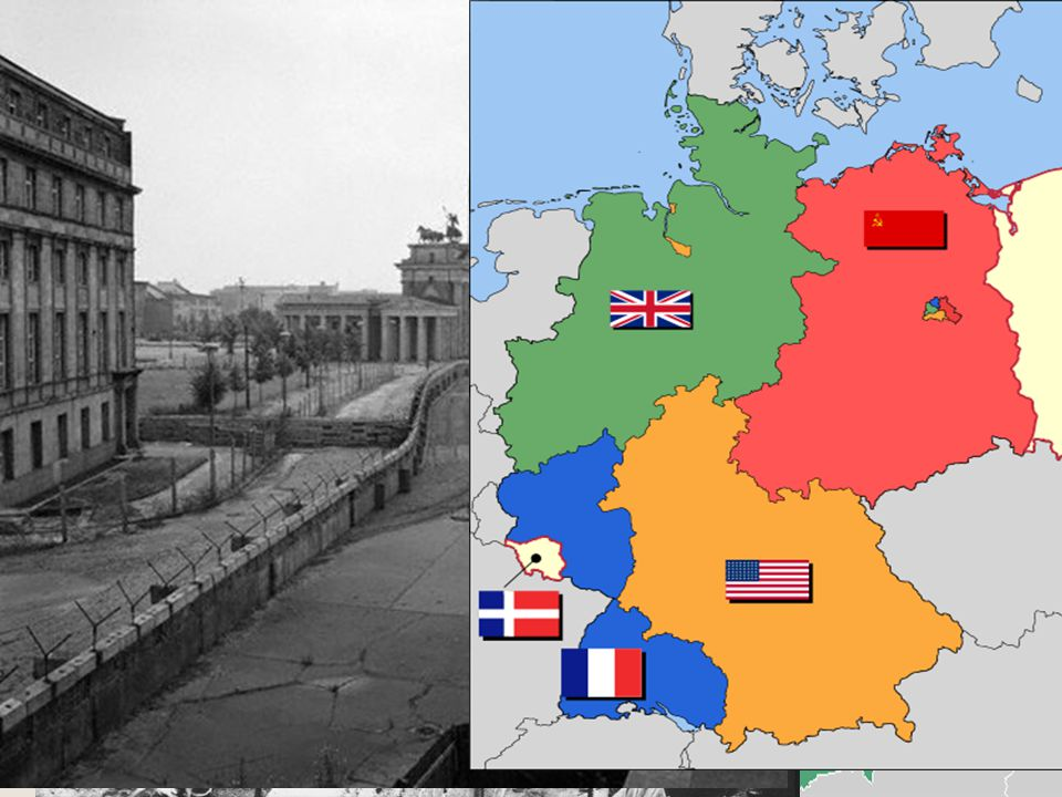 Berlin Wall August 13, 1961: Khrushchev closed crossing points between East and West Berlin.