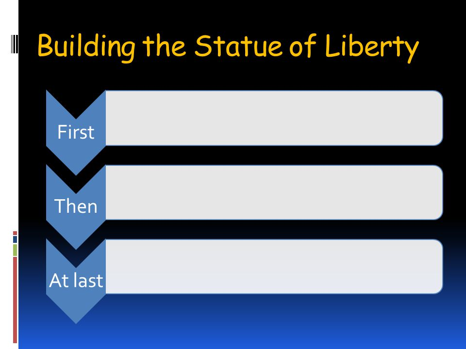 Building the Statue of Liberty