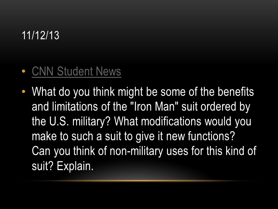 11/12/13 CNN Student News.
