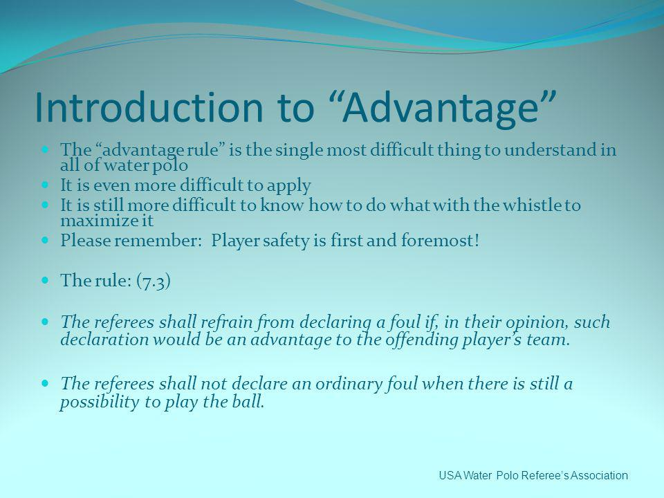 Introduction to Advantage