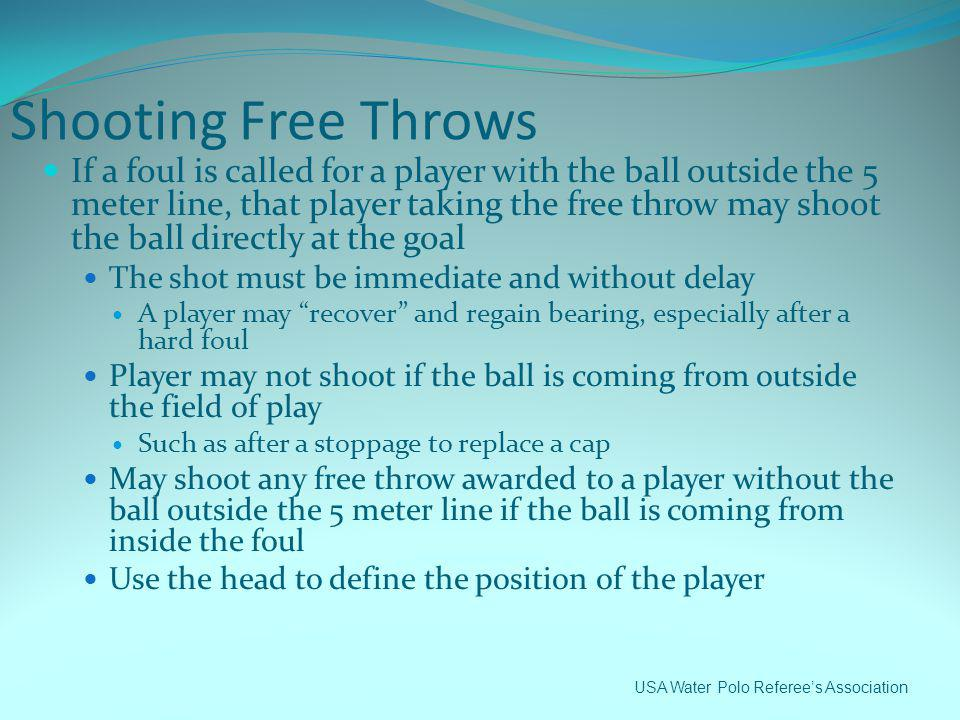Shooting Free Throws
